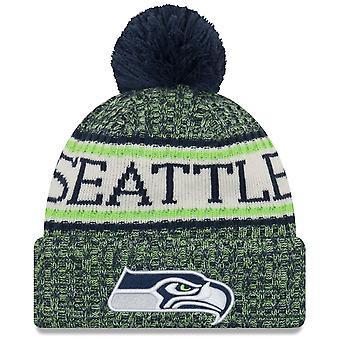 New era NFL sideline 2018 Bobble Hat - Seattle Seahawks