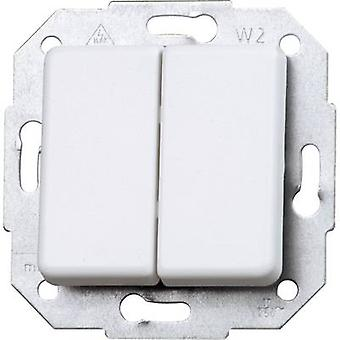 Kopp Insert Series switch Europa Arctic white, Ma