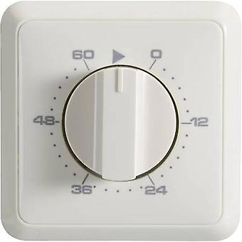 Wallair 20100261 Flush mount timer/power strip analogue 24 h mode 3680 W IP20 2-phase