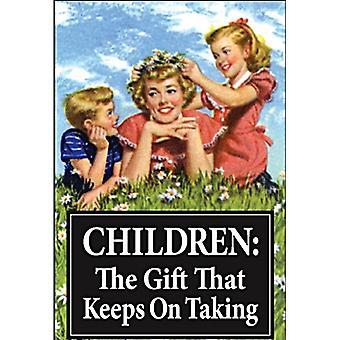 Детям подарок, который держит на говорить Холодильник магнит