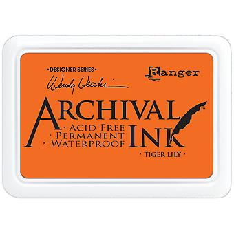 Wendy Vecchi Designer Series Archival Ink Pad-Tiger Lily