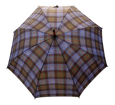 McLeod Tweed Check Print  Straight Umbrella