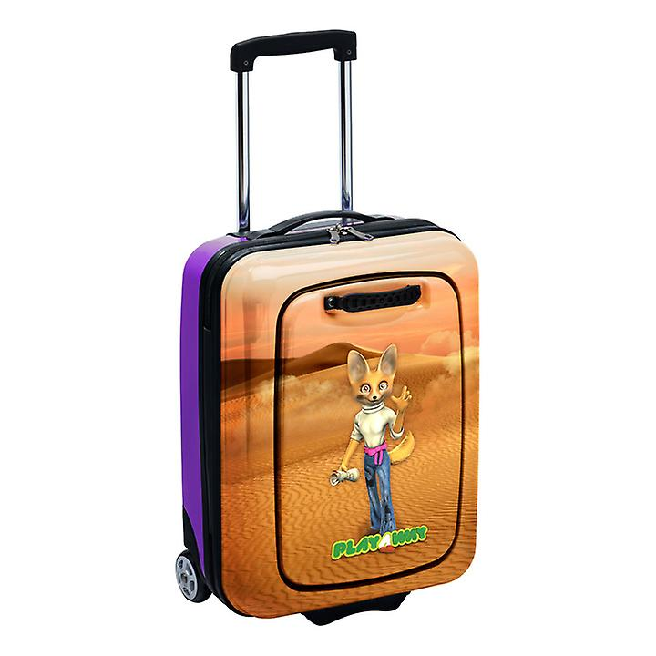 Eva Dee the Fennec Fox PlayAway Suitcase with PlayPod