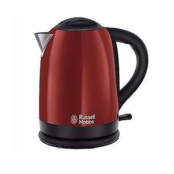 Russell Hobbs 20092 Dorchester 3kw 1.7L Cordless Electric Kettle - Metallic Red