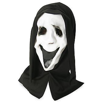 Geisterhaube Latex Geistermaske Halbmaske Horror Halloween