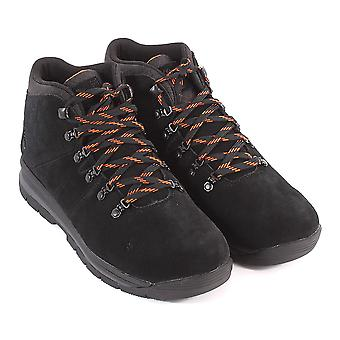 Timberland Men's GT Rally Mid A1QF9 Leather Waterproof Lace Up Boot Black