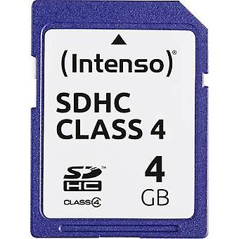 Intenso Blue SDHC card 4 GB Class 4