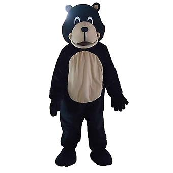 mascot bear black and beige SPOTSOUND giant