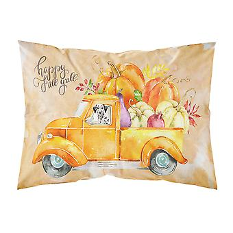 Fall Harvest Dalmatian Fabric Standard Pillowcase