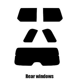 Pre cut window tint - Cadillac Escalade - 2006 to 2014 - Rear windows