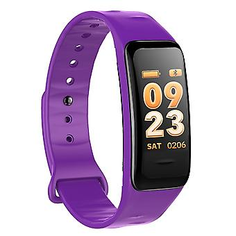 C1S multifunctionele taak armband met kleur scherm-paars