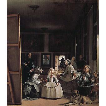 Las Meninas, Diego Velázquez, 60x50cm