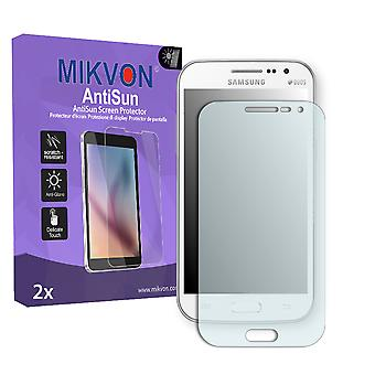 Samsung I8552 Galaxy Win Duos Screen Protector - Mikvon AntiSun (Retail Package with accessories)