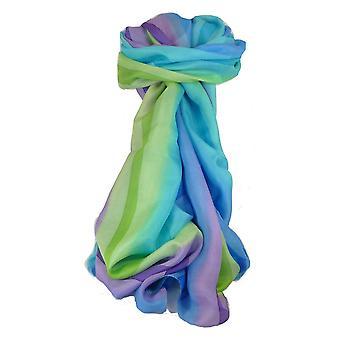 Тутовых шелковые классический длинный шарф Радуга кайф палитра, пашмины & шелка