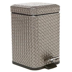 Gedy Marrakech Pedal Bin Soft Close 3L Antique Silver 6709 77