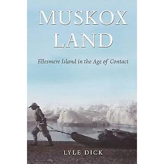 Bœuf musqué Land - île d'Ellesmere dans l'ère du Contact par Lyle Dick - 97