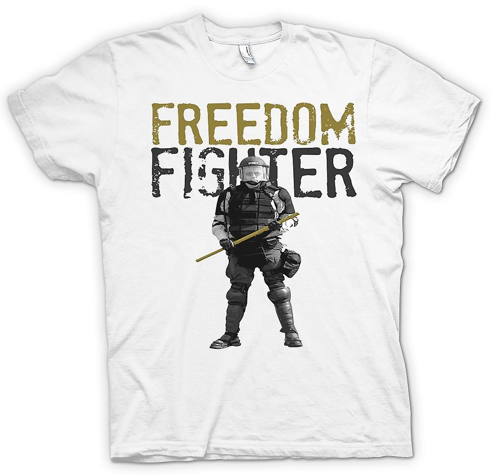 Herr T-shirt - Freedom Fighter - polisstat