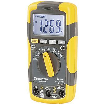 TechBrands Cat III True RMS Autoranging 4000 Dig MultiMeter w / Temp