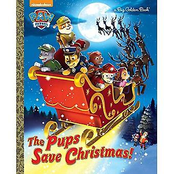 Les chiots sauver Noël! (Patte de patrouille) (Grand livre d'or)