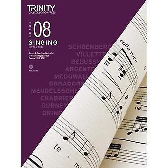 Trinity College London Singing Grade 8 Low Voice 2018-2021