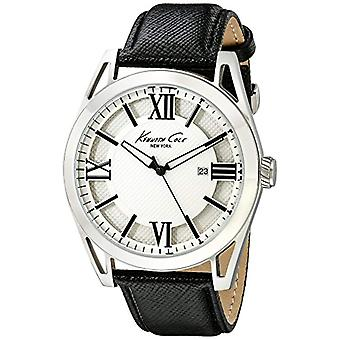 Kenneth Cole men's steel watch ikc8072 _, color: white/gray