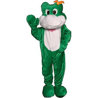 Frog Mascot Adult Costume