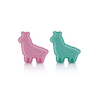 Tilly & Friends No Prob LLama Bath Fizzer 60g (Pink=Candyfloss or Blue=Vanilla)