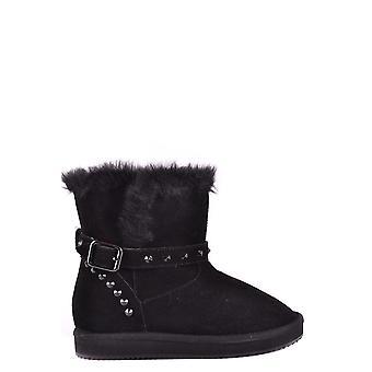 Liu Jo Black Suede Ankle Boots