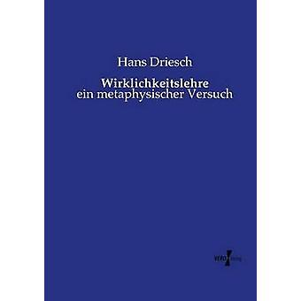 Wirklichkeitslehre av Drieschen & Hans