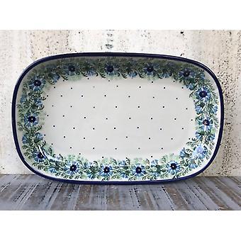 Bowl / plate, 26 x 16 x 3 cm, tradition 7, BSN 4036