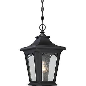 Elstead-1 lys lille kæde lanterne-Mystic Black finish-QZ/BEDFORD8/S