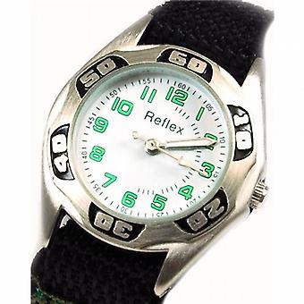 Reflex Green Camouflage White Dial Boys Sports Watch 1017110C