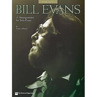 Bill Evans - 19 Arrangements for Solo Piano - 9780634018725 Book
