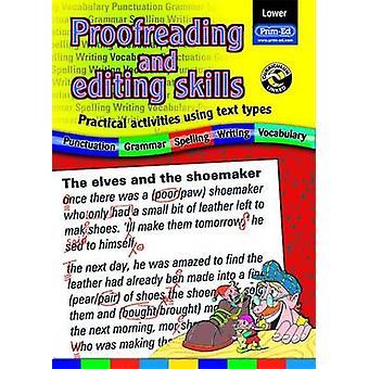 Proeflezen en bewerken van vaardigheden-praktische activiteiten met tekst type