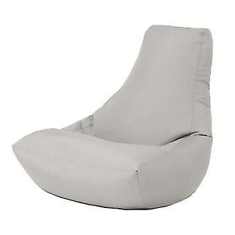 Prata resistente à água ao ar livre Gaming Bean Bag Highback lounger cadeira