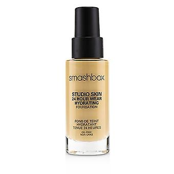Smashbox Studio Skin 24 timmars slitage Hydrating Foundation-# 2,1 (ljus med varm peachy underton)-30ml/1oz