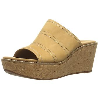 Clarks Womens Aisley Lily Open Toe Casual Platform Sandals