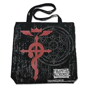 Tote tas-FullMetal Alchemist-nieuw Kruis van Flamel speelgoed gelicentieerd ge11802