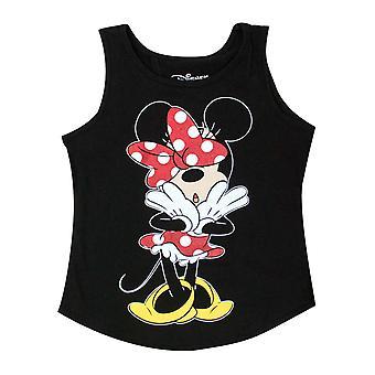 Minnie mouse Open back jovens meninas Tank Top