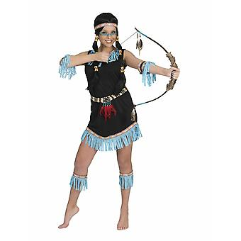 Sioux Indian Costume Fringe Women's Wild West Carnival Women's Costume