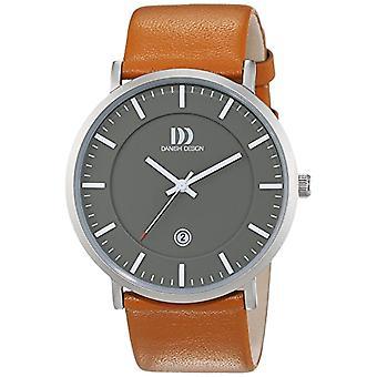 Danish Design uomo-Orologio da polso al quarzo in pelle 3314515