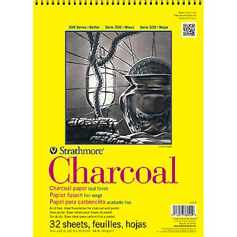 Strathmore Charcoal Spiral Paper Pad 9