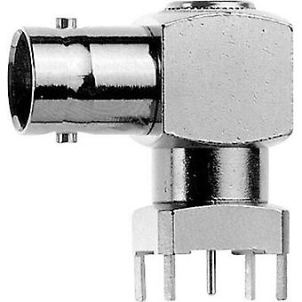 BNC connector Socket, horizontal mount 75 Ω Telegärtner J01003A1949 1 pc(s)