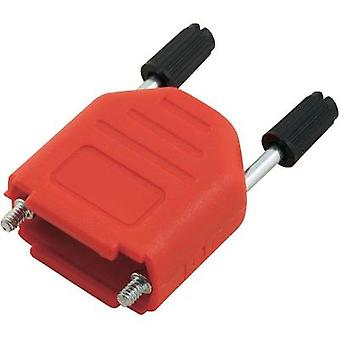 D-SUB housing Number of pins: 9 Plastic 180 ° Red MH Connectors MHDPPK09-R-K 1 pc(s)