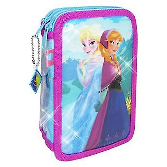 Cife Frozen Glitter Case 3 Floors 2015 (Toys , School Zone , Pencil Case)