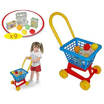 Palau Shopping Cart With 9 Accessories (Toys , Home And Professions , Professions)