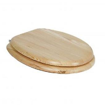 Tatay Toilet Seat Clear Wood Finish Pine Nature