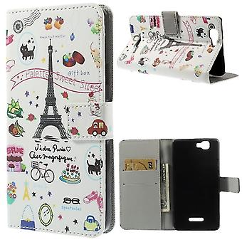 Eiffel Tower supported cover and door cards for Kiritkumar Rainbow