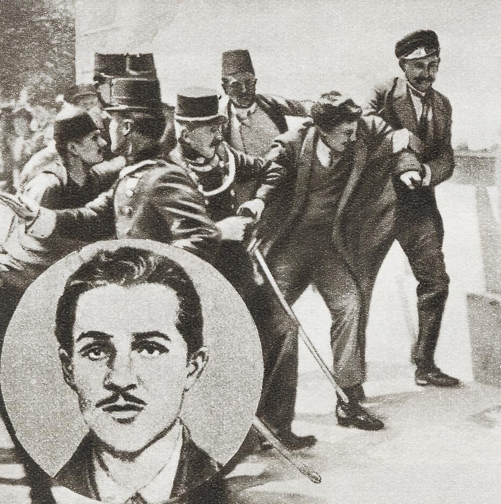 archduke ferdinand and gavrilo princip essay The assassination of archduke franz ferdinand(newspaper and current periodical reading room, library of congress) were killed by gavrilo princip.