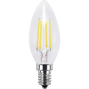 LED Segula 230 V E14 4 W = 33 W Warm white EEC: A+ Candle (Ø x L) 35 mm x 97 mm Filament, dimmable 1 pc(s)